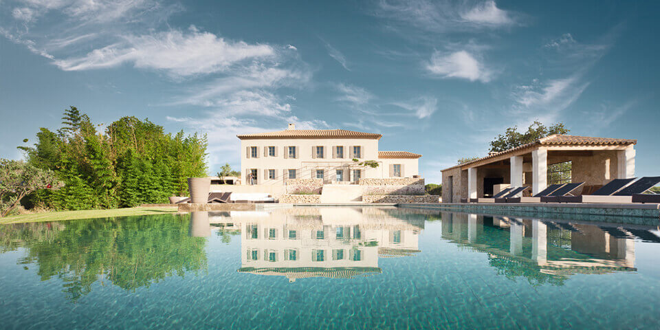 Petit Chateau luxury villas in France