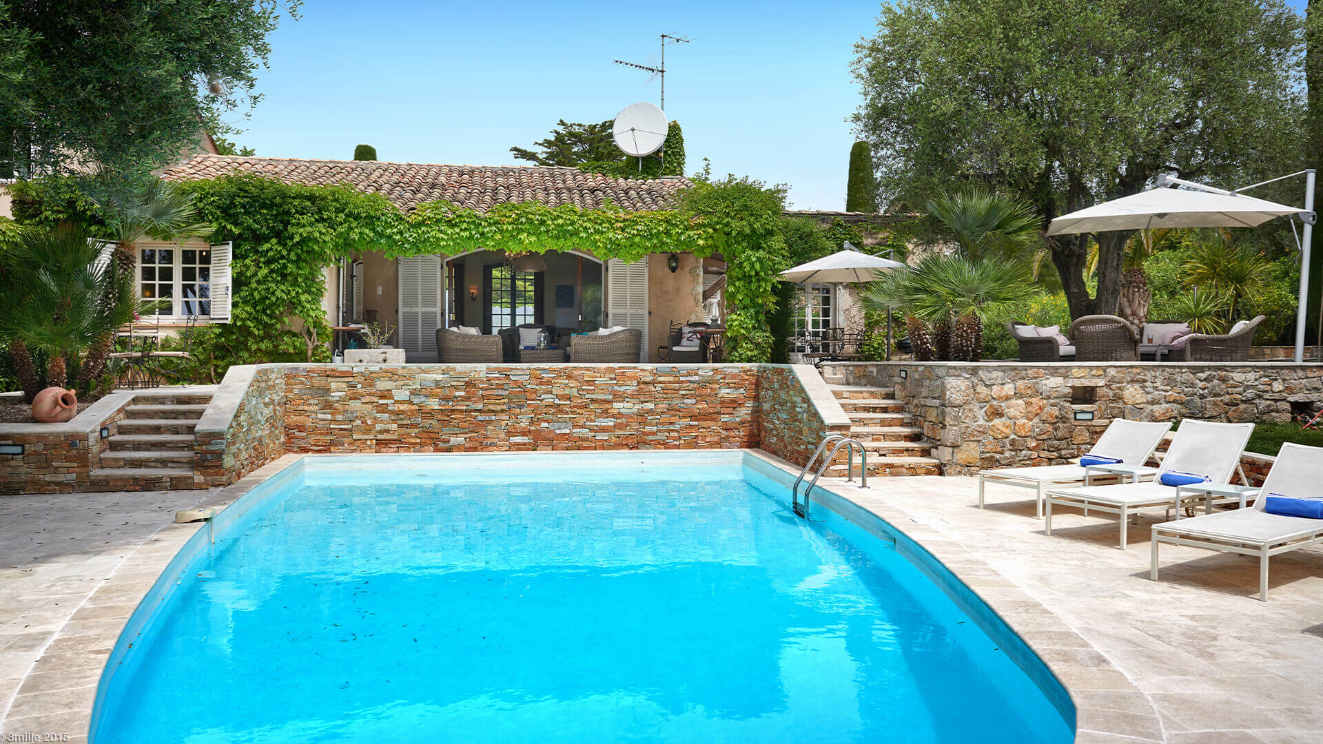 Bastide in Mougins villa with pool