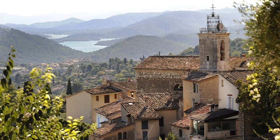Large villa Cabris view of town and valley