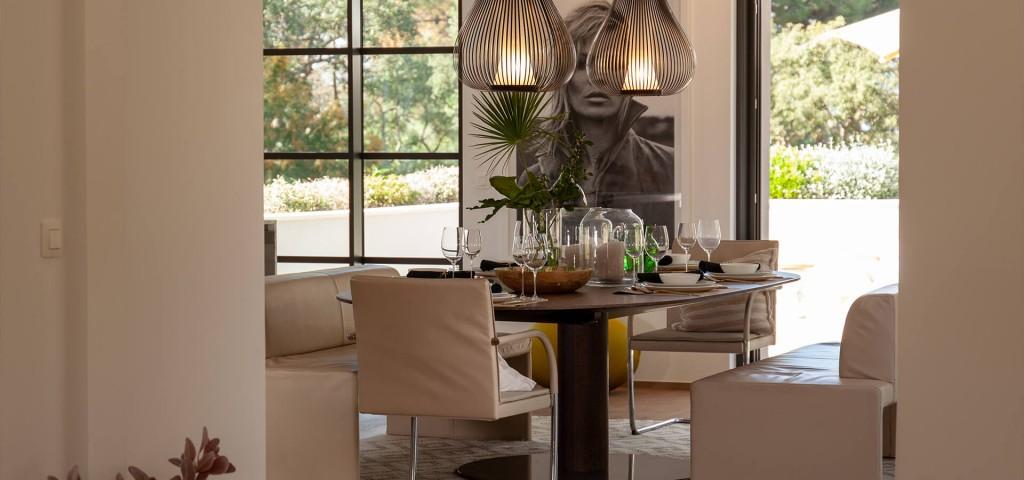 Luxury villa Les Parcs de Saint Tropez