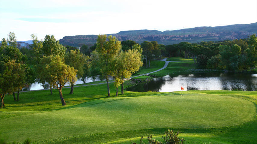Provence Golf and Spa golf course with lakes and trees