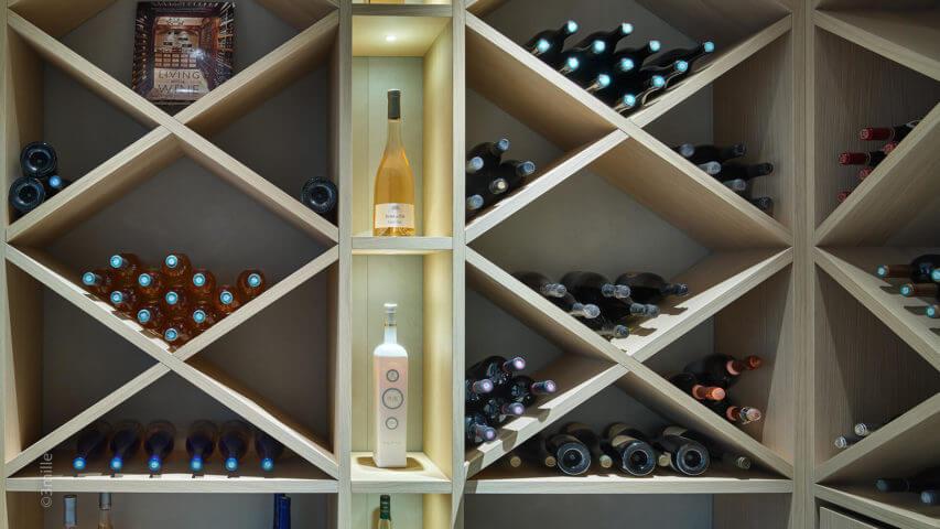 Super Cannes Luxury wine cellar