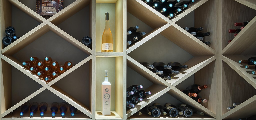 Super Cannes Luxury wine cellar