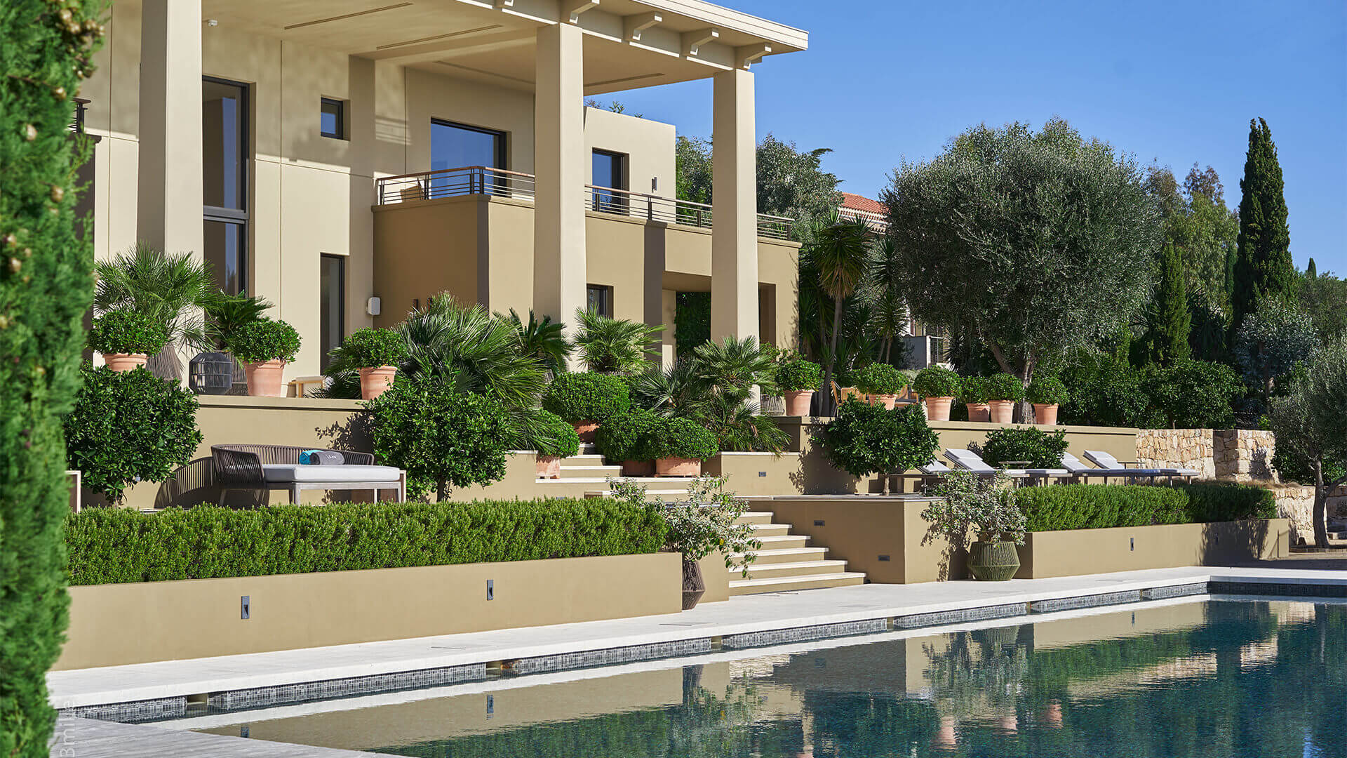 Super Cannes Luxury villa and swimming pool
